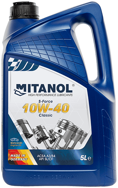 High Performance Engine Oil 10W-40 Classic