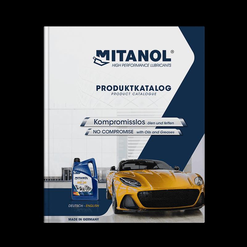 MITANOL Premium-Hochleistungs-Motorenöle und Getriebeöle. Produktkatalog